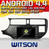 Witson Android 4.4 Car DVD para KIA Rio 2011-2012 com A9 o Internet DVR Support da ROM WiFi 3G do chipset 1080P 8g