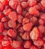 새로운 작물에 의하여 말리는 딸기