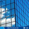 Abgetöntes Glas des Floatglas-/Gebäude/dunkelblaues reflektierendes Glas