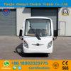 リゾートのための道の電池式の標準的なシャトルの観光の電気小型車を離れたZhongyiの卸売8の乗客