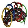 Monogitarren-Kabel des Montage-Gewebe-6.35mm