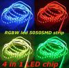 DC12V 72W RGB+White/Warm White Color LED 5050 Ribbon Rope Light
