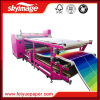 máquina del traspaso térmico del tambor del rodillo de 600mmx1900m m para la impresión de la tela