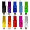 USB libero 2.0 della plastica del metallo di marchio azionamento del pollice delle 3.0 parti girevoli