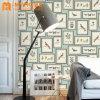 Behang van pvc van de Decoratie van het huis het Moderne Vinyl Waterdichte 3D