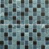 Mattonelle di mosaico di vetro della miscela del marmo di verde della caratteristica del parchè (GS12)