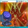 occhi dell'ape di 19X15W LED che spostano l'indicatore luminoso chiaro capo della lavata dello zoom
