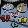 Бабочка Rhinestone вышивка 3D-Patch Sequin валики Crystal Reports одежда аксессуары