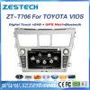 Radio auto DVD del estruendo 2 para el sistema de navegación de Toyota Yaris Vios GPS