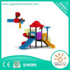 Скольжение детей оборудования спортивной площадки новой конструкции напольное
