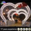 Decoração ao ar livre do arco do Natal do diodo emissor de luz da luz do motivo do feriado