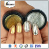 Hot Sale Effet miroir à ongles Chrome Pigment Powder Magic Makeup Miroir Powder Coating Nail Art