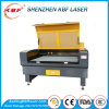 Máquina de corte a laser de couro / tecido CO2 100W 1610