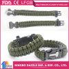 7 Bracelet Core Paracord Vente en gros Bracelet Paracord de Survie avec Fire Starter & Whistle