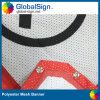 Segni della bandiera della maglia del tessuto di stampa di colore completo del fornitore