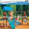Equipamento de reprodução de plástico ao ar livre crianças playground conjuntos (HF-20410)