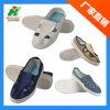 Jeans/Blauw Canvas/de Witte Schoen van het Werk van de Veiligheid van pvc Linkworld Antistatische ESD voor Cleanroom