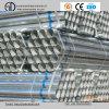 Tubulação de aço redonda de Pregalvanized do carbono Ss400 para o material de construção