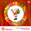Assiette 100%, plaque ronde de mélamine de Noël de 8 pouces de catégorie comestible
