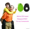 Der Kinder GPS-Verfolger der Mikro-SIM Karte, die kann eingebaute Lautsprecher-und Mikrofon-Stimme 2 Möglichkeit persönlichen GPS-Feststeller sprechend aufspürt