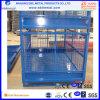 Stapelbares Stahldraht-Lager-faltende Ineinander greifen-Kasten-Ladeplatte