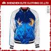 По вашему вкусу синий и белый бомбардировщик куртка вышивка (ELTBJI-41)