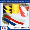 ペット物質的な自己接着反射危険の注意テープ(C1300-O)