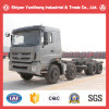 Descarga de 8X4 chasis de camión volquete/chasis de camión de minería de datos para la venta