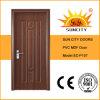 PVC extérieur Door (SC-P107) de Finishing et de Swing Open Style Toilet