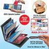 Бумажник интереса/бумажник карточки/владельца карточки/кожаный бумажник