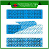 Etiqueta de encargo de la seguridad de la impresión de la Anti-Falsificación