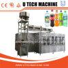 El agua potable en botella/carbonató la máquina de rellenar de las bebidas