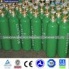 Cylindre d'oxygène médical standard en acier