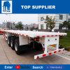 Véhicule de remorques de bâti plat de Toncontainer du véhicule 60 de titan semi à vendre