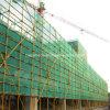 Gestell, das für den Export grüner Aufbau-Plastiknetz aufbaut