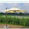 Parapluie carré promotionnel de jardin de teck pour les meubles extérieurs