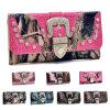 Ss16 nuevos diseños de camuflaje Occidental Billetera dama
