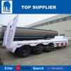 Titan lit Lowbed basse camion-remorque Remorque Semi-Low Lowboy 3 de l'essieu lit les remorques à essieu tridem de remorque