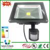 PIR Sensor 10-50W IP65 COB Flood Lighting LED Flood Light