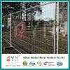 構築の塀の一時構築塀によって溶接されるワイヤー取り外し可能な塀