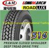 305/70R19.5 긴 3월 Roadlux 도매 광선 트럭 타이어 (LM516)