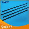 Em aço inoxidável revestido de plástico de retenção do cabo com marcação CE