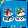 Idéias para presentes de Natal Resin Handicrafts Snow Ball Ball Music Box