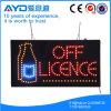 Protección del medio ambiente del rectángulo de Hidly de la muestra de la licencia LED