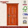Handgemachte schnitzende Tür Sapele hölzerne Einstiegstür (XS2-013)