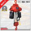 Tipo motorizado motor alzamiento de cadena eléctrico de la carretilla del engranaje de 10 toneladas