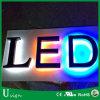 Carta de canal puesta a contraluz encendida LED de acrílico de la fuente de la fábrica