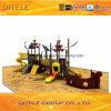 114mm galvanisiertes Pfosten-bunte Piraten-Lieferungs-Kind-im Freienspielplatz-Gerät