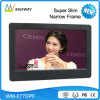 2017 Novo design Slim LCD 7 polegadas Digital Photo Picture Frame