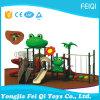 Série-Grenouille animale du jouet des enfants extérieurs de cour de jeu d'enfants de plastique neufs (FQ-YQ-00902)